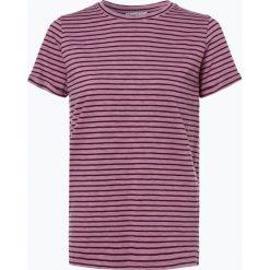 Marie Lund - T-shirt damski, lila. Fioletowe t-shirty damskie Marie Lund, m, w paski. Za 89,95 zł.