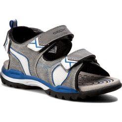 Sandały męskie: Sandały GEOX - J Borealis B.D J720RD 01014 C0244 Szary/Niebieski