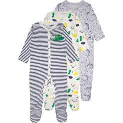 Mothercare BOYS RAWWASAURUS SLEEPSUIT BABY 3 PACK Piżama green. Zielone bielizna dziewczęca mothercare, z bawełny. Za 129,00 zł.