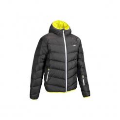 Kurtka narciarska SKI-P JKT 500 WARM męska. Szare kurtki męskie puchowe marki WED'ZE, m, z elastanu, narciarskie. Za 299,99 zł.