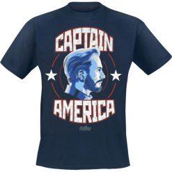 Captain America Avengers - Infinity War - Captain America T-Shirt niebieski. Niebieskie t-shirty męskie Captain America, l, z motywem z bajki. Za 42,90 zł.