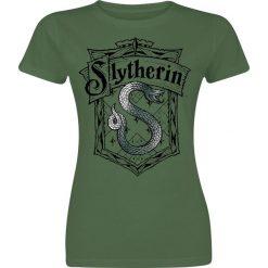 Harry Potter Slytherin - Shrewder Koszulka damska zielony. Zielone bluzki damskie Harry Potter, xxl, z nadrukiem, z okrągłym kołnierzem. Za 74,90 zł.