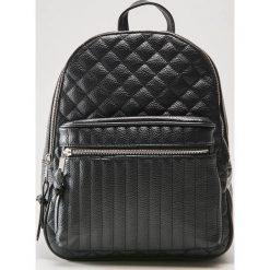 Pikowany plecak - Czarny. Czarne plecaki damskie House. Za 99,99 zł.