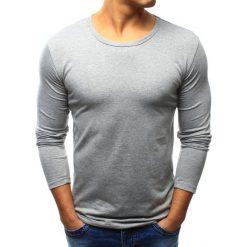 T-shirty męskie: Longsleeve męski szary (lx0422)