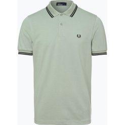 Fred Perry - Męska koszulka polo, zielony. Zielone koszulki polo Fred Perry, l, z bawełny, z krótkim rękawem. Za 359,95 zł.