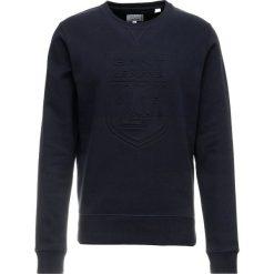 GANT CNECK Bluza evening blue. Niebieskie bluzy męskie marki GANT. Za 549,00 zł.