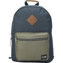 Plecak w kolorze granatowo-oliwkowym - 30 x 41 x 13 cm. Brązowe plecaki męskie marki G.ride, z tkaniny. W wyprzedaży za 99,95 zł.