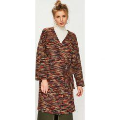 Answear - Płaszcz Nomad. Brązowe płaszcze damskie ANSWEAR, l, z elastanu. Za 199,90 zł.