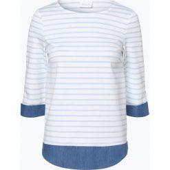 Vila - Damska bluza nierozpinana – Tinny, czarny. Czarne bluzy damskie marki Vila, xs, w paski, z jeansu. Za 129,95 zł.