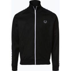 Fred Perry - Męska bluza rozpinana Sportswear, czarny. Czarne bluzy męskie rozpinane Fred Perry, l, w paski. Za 469,95 zł.