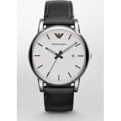 Emporio Armani - Zegarek AR1694. Szare zegarki męskie marki Emporio Armani, l, z nadrukiem, z bawełny, z okrągłym kołnierzem. Za 839,90 zł.
