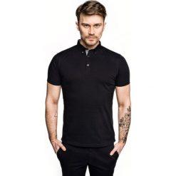 Koszulka polo luna czarny. Szare koszulki polo marki Recman, m, z długim rękawem. Za 89,99 zł.