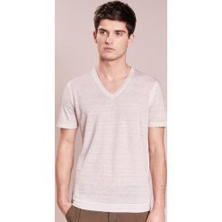 Koszulki polo: 120% Lino UOMO Tshirt basic light grey