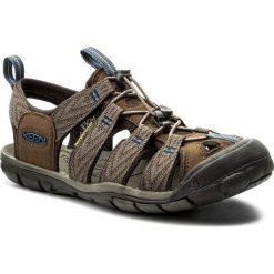 Sandały KEEN - Clearwater Cnx 1018495 Dark Earth/Blue Opal. Brązowe sandały męskie skórzane Keen. W wyprzedaży za 269,00 zł.