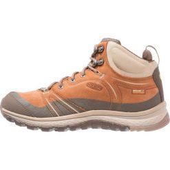 Keen TERRADORA WP Buty trekkingowe timber/cornstalk. Brązowe buty trekkingowe damskie Keen, z gumy. W wyprzedaży za 439,20 zł.