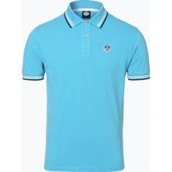 North Sails - Męska koszulka polo, niebieski. Niebieskie koszulki polo North Sails, m, w paski. Za 299,95 zł.