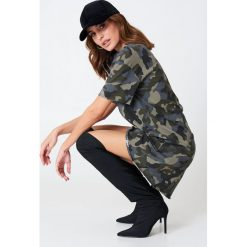 Sukienki: Hannalicious x NA-KD Sukienka typu T-shirt - Green