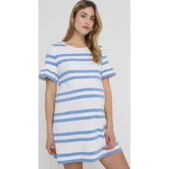 Sukienki hiszpanki: Slacks & Co. VERONIKA Sukienka z dżerseju white/sky blue