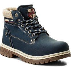 Buty zimowe chłopięce: Trapery ACTION BOY – CP07-16994-01 Granatowy