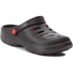 Klapki COQUI - Kenso 6305 Black. Czarne klapki męskie marki Coqui, z tworzywa sztucznego. Za 49,99 zł.