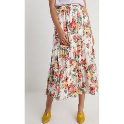 Abercrombie & Fitch PRINT Długa spódnica white - 2