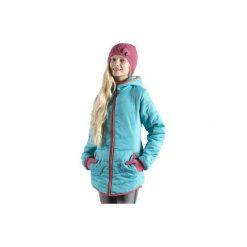 Kurtka dziewczęca zimowa z kieszeniami, z kapturem, z polarem. Czarne kurtki dziewczęce zimowe marki ARTENGO. Za 29,99 zł.
