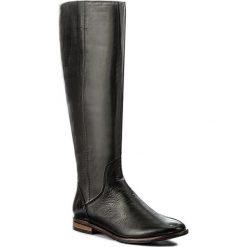 Oficerki NESSI - 894/O Czarny 141. Czarne buty zimowe damskie marki Nessi, ze skóry, na obcasie. W wyprzedaży za 329,00 zł.