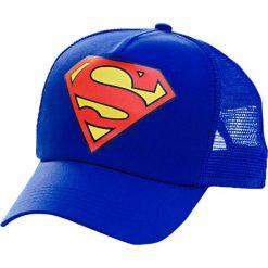 """Czapki męskie: Czapka """"Superman"""" w kolorze niebieskim"""