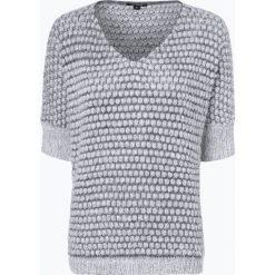 Comma - Sweter damski, beżowy. Brązowe swetry klasyczne damskie comma, z dzianiny, z klasycznym kołnierzykiem. Za 299,95 zł.