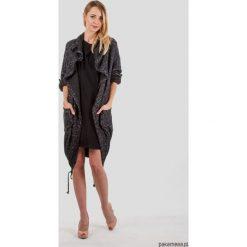 Płaszcze damskie: Płaszcz swetrowy damski Cozy LOOK antracyt