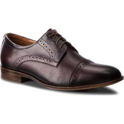 Półbuty SERGIO BARDI - Cassiglio FW127367118IG  134. Brązowe buty wizytowe męskie Sergio Bardi, z materiału. Za 229,00 zł.