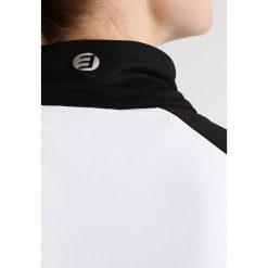 Icepeak NORA Koszulka sportowa black. Czarne topy sportowe damskie Icepeak, z elastanu, z długim rękawem. W wyprzedaży za 151,20 zł.