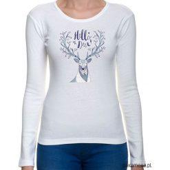 Bluzki, topy, tuniki: koszulka damska z jeleniem