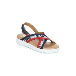 Sandały Levis  Persia Sportswear. Niebieskie sandały damskie Levi's®. Za 289,00 zł.