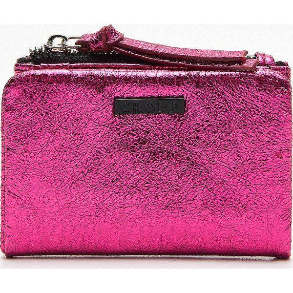 a51517c8a29f0 Portfel - Różowy - Różowe portfele damskie Cropp