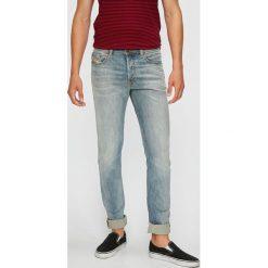 Diesel - Jeansy Tepphar. Niebieskie jeansy męskie slim Diesel. W wyprzedaży za 679,90 zł.