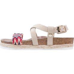 Genuins ALPI  Sandały sand. Brązowe sandały chłopięce Genuins, z materiału, z otwartym noskiem. W wyprzedaży za 160,30 zł.