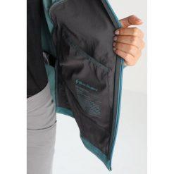 Black Diamond DAWN PATROL SHELL Kurtka Softshell caspian. Niebieskie kurtki damskie softshell marki Black Diamond, s, z elastanu. W wyprzedaży za 607,20 zł.