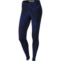 Legginsy sportowe damskie NIKE LEG-A-SEE ALLOVER PRINTED / 726091-455 - spodnie sportowe damskie NIKE LEG-A-SEE ALL OVER PRINTED. Niebieskie bryczesy damskie marki 4f, s. Za 79,00 zł.