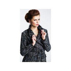 PŁASZCZ CHIARI. Czarne płaszcze damskie Anna solan, na wiosnę, s, z tkaniny. Za 499,00 zł.