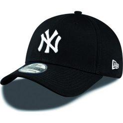 New Era - Czapka League Yankees. Czarne czapki z daszkiem męskie New Era, z bawełny. W wyprzedaży za 99,90 zł.