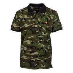T-shirty chłopięce: Koszulka polo w kolorze khaki