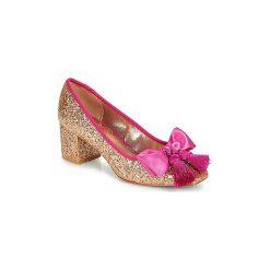 Czółenka Miss L'Fire  SABRINA. Żółte buty ślubne damskie Miss L'Fire. Za 494,10 zł.