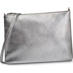 Torebka COCCINELLE - DV3 Mini Bag E5 DV3 55 F4 07 Silver Y69. Szare torebki klasyczne damskie Coccinelle, ze skóry. Za 549,90 zł.