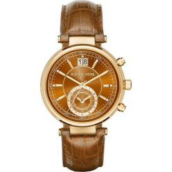 ZEGAREK MICHAEL KORS MK2424. Brązowe zegarki damskie Michael Kors, ze stali. Za 1290,00 zł.