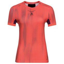 Bluzki sportowe damskie: Odlo Koszulka tech. Odlo  Ceramicool pro Print Shirt s/s crew neck - 160121 - 160121/30321/S