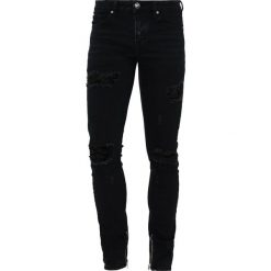 Jeansy męskie regular: Sixth June Jeansy Slim Fit black