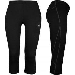 Bryczesy damskie: Newline  Spodnie damskie za kolano Base - kompresyjne czarne r. XL