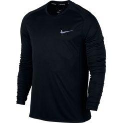 Koszulki do fitnessu męskie: koszulka do biegania męska NIKE DRY MILER RUNNING TOP LONG SLEEVE / 833593-010 – MILER RUNNING TOP LONG SLEEVE