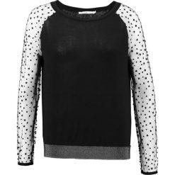 Swetry klasyczne damskie: Aaiko SERENA  Sweter black